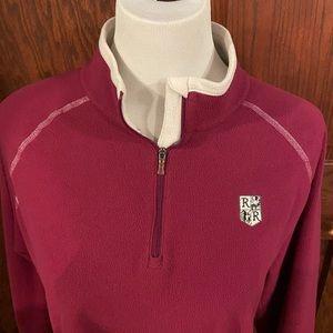 Used Under Armour School Fleece 1/4 zip Womens XL